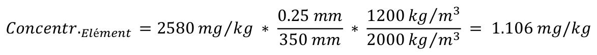 Formule PCB sur l'epaisseur 2