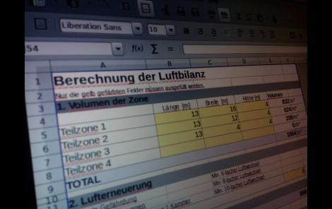 Luftbilanz Screenshot